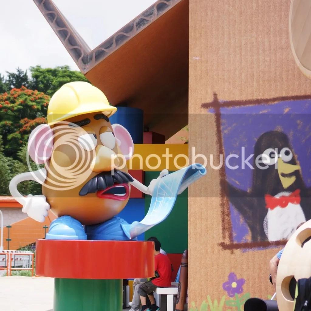 Hongkong Disneyland Toy Story area