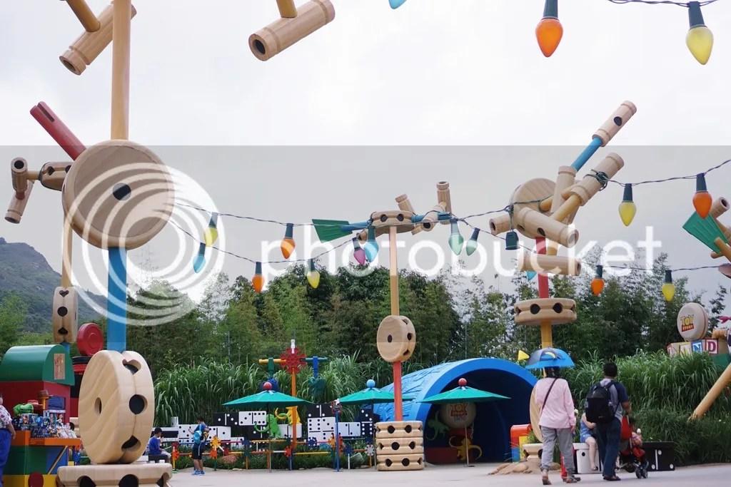 Toy Story Disneyland Hongkong