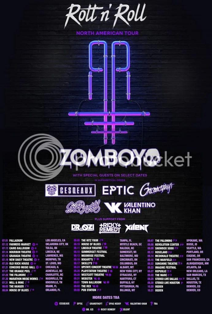 Zomboy Tour