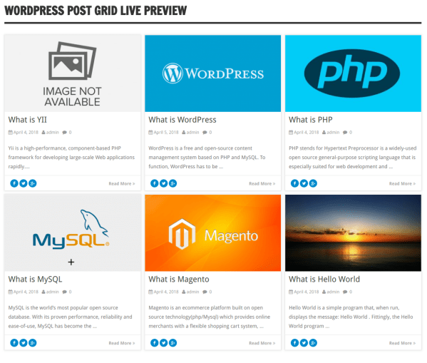 WordPress-Post-Sliders-and-grid-WordPress Post Grid View