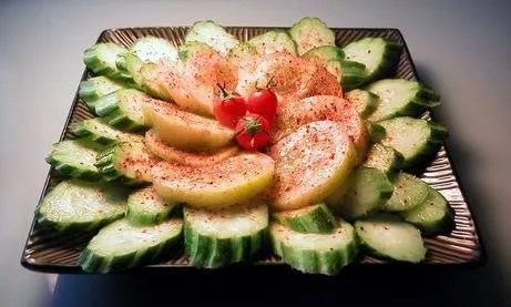 Mexican Style Sliced Cucumbers