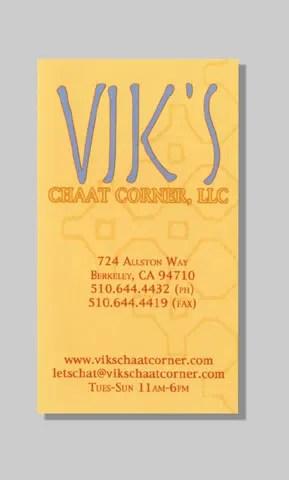 Vik's Business Card