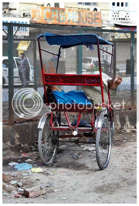 Street Life (Delhi) -- Rickshaw