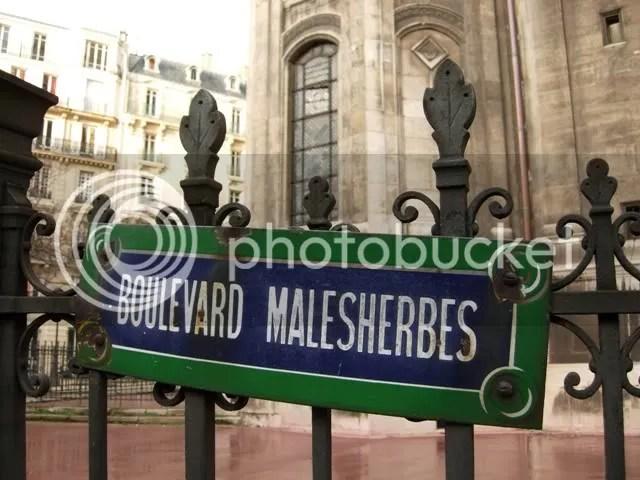 Boulevard Malesherbes - hiver 2007
