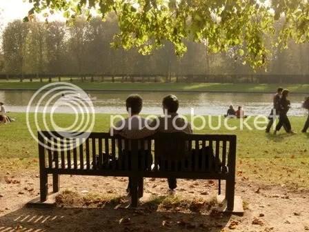 Le couple - Versailles - octobre 2006