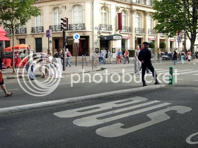 Policier au 14 juillet - juillet 2007