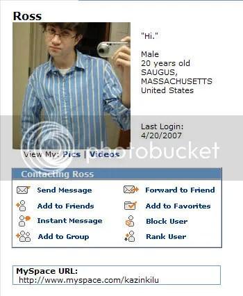 MySpace salah satu korban penembakan Virginia