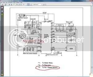 92 es300 Pioneer Avic N3 install (speed sensor leads