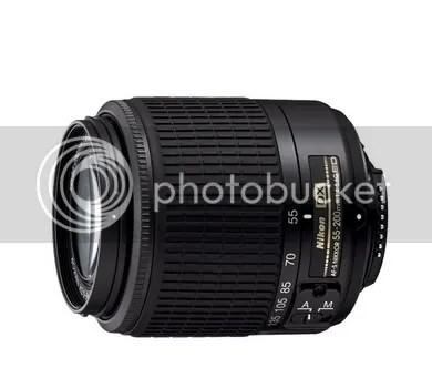 Nikon AF-S DX 55-200mm f/ 4-5,6G