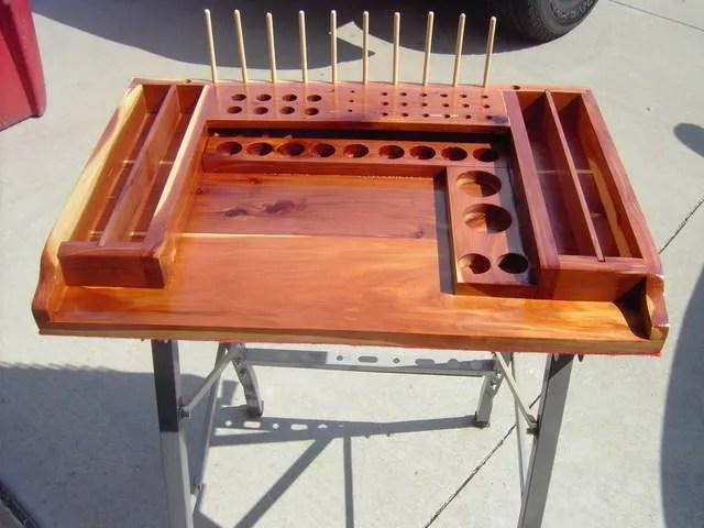 Fly Tying Bench Designs Bijaju54