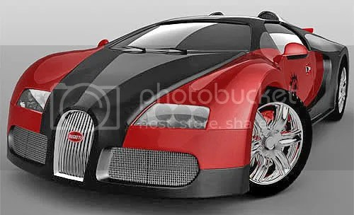 This Bugatti...and so much more. SO much.
