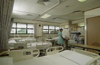 A 28-hour wait for a bed at the Singapore General Hospital