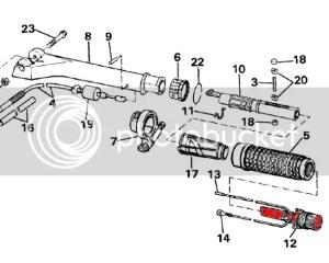 86 Johnson 15hp how to install lanyard (MOB) kill switch