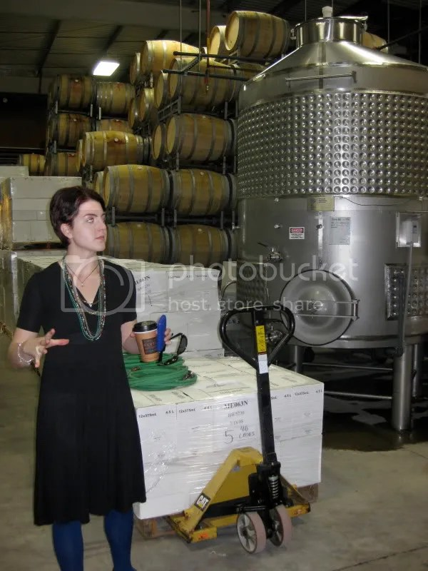 Kimberly talks about fermentation.