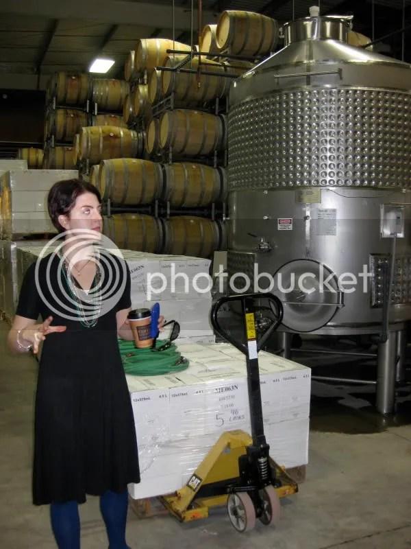 Kimberly talks about fermentation.