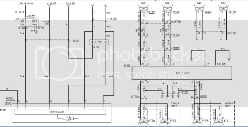 wiring diagram mitsubishi canter x