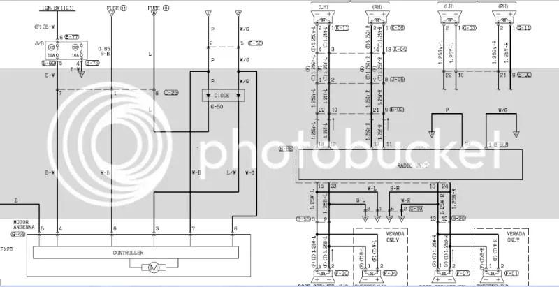 mitsubishi magna wiring diagram for stereo  mitsubishi