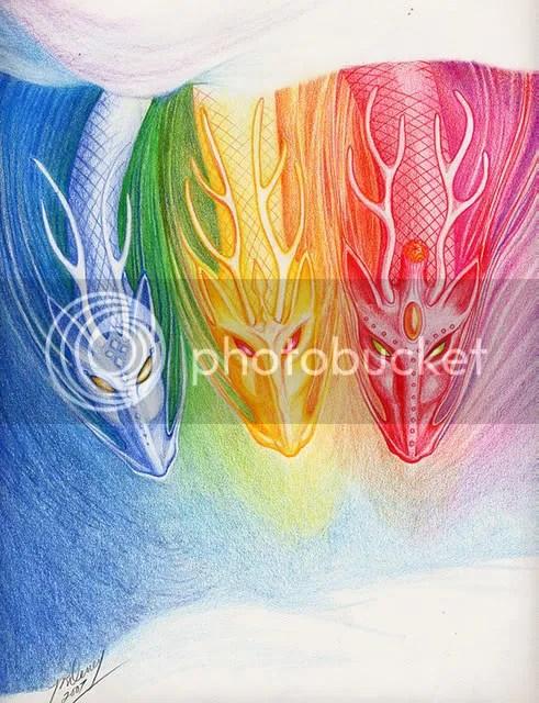 Trois dragons
