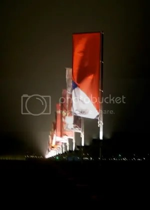 Banners on Museumplein
