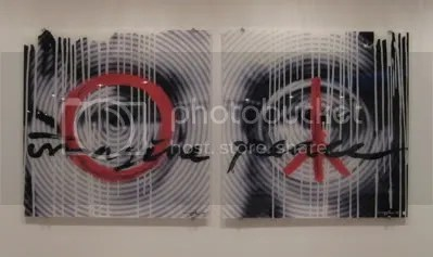Images inspired by Lennon's life