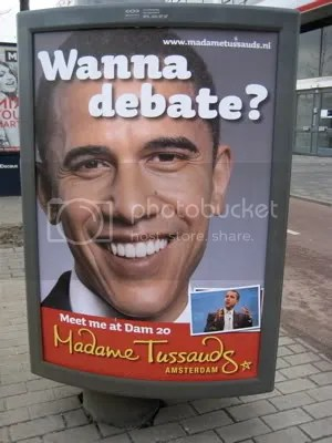 Obama is ready to debate