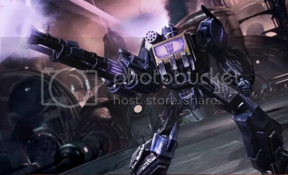 You will fall before the might of the Decepticons!