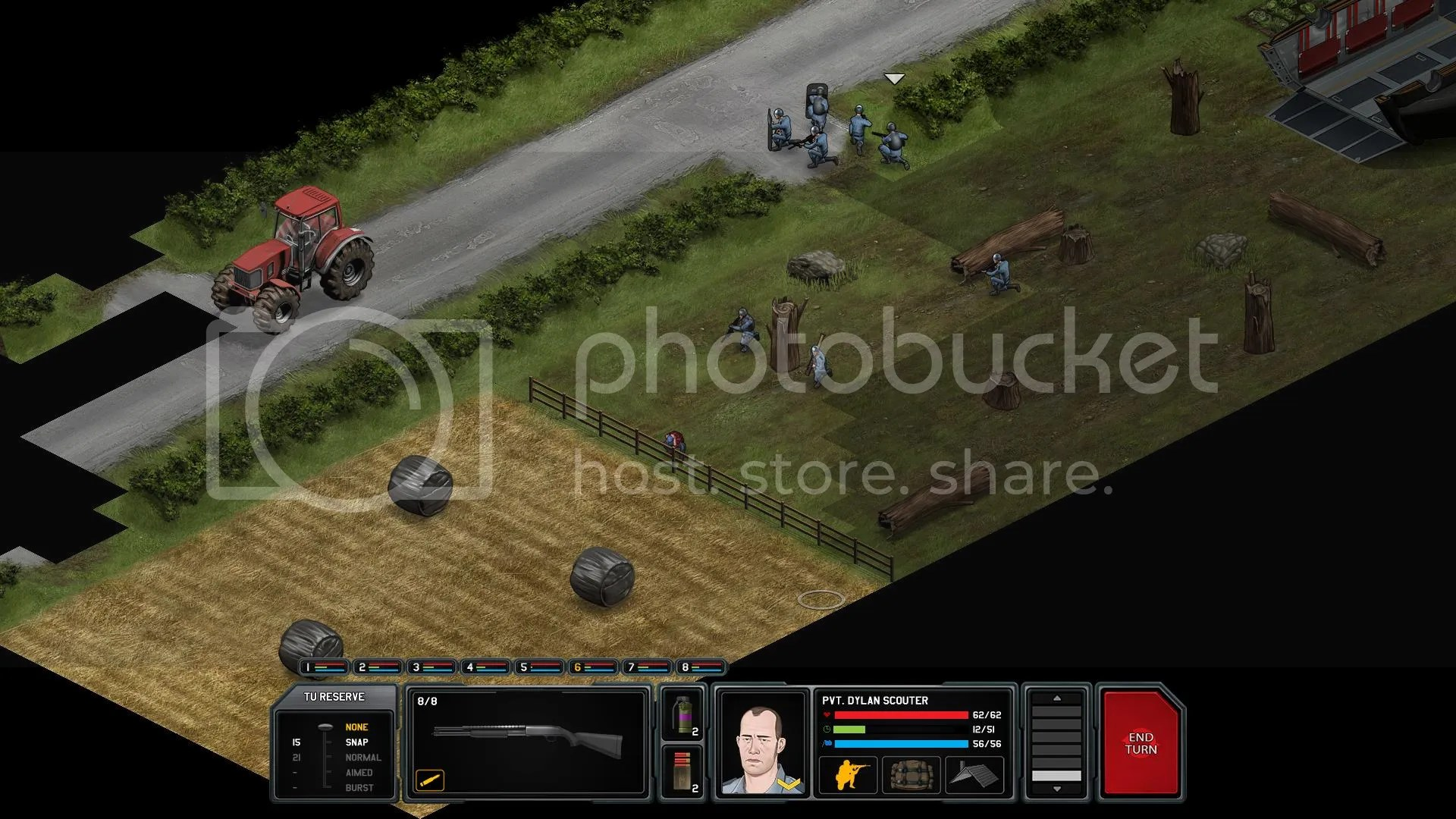 Tractor spotted!