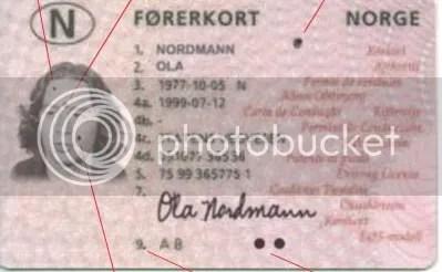 FØRERKORT I NORGE