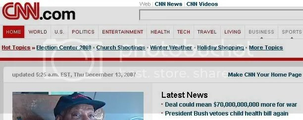 Juxtapostion of Headlines