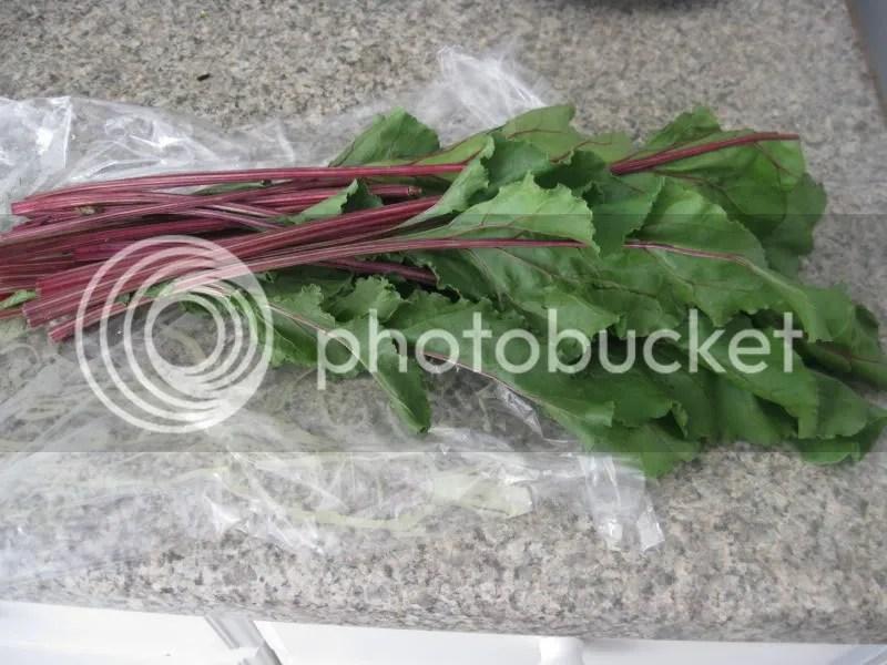 Beet greens