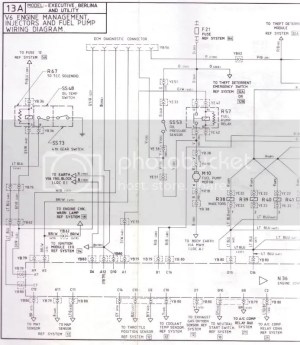 vp v6 modore wiring diagram | Just Commodores