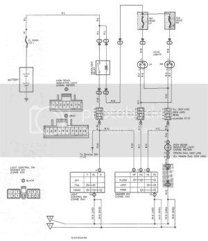 Wiring diagram for 93 toyota hilux surf