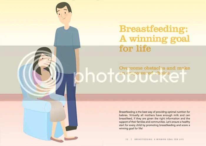 World Breastfeeding Week brochure