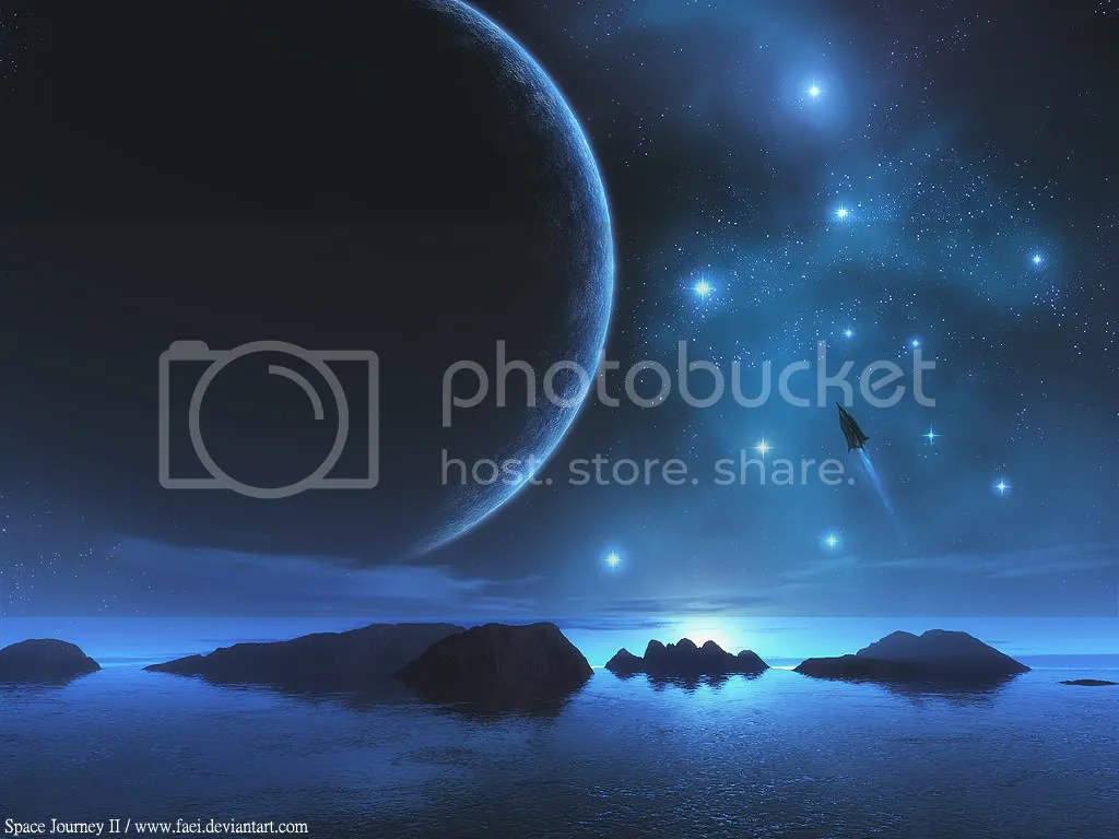Space Blue Pictures, Images and Photos