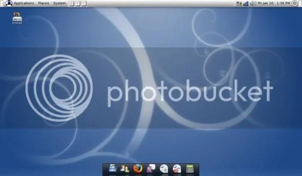 Eeebuntu desktop