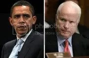 Barack Obama és John McCain