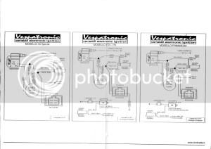 Vespatronic wiring diagram | Vespa Smallframes