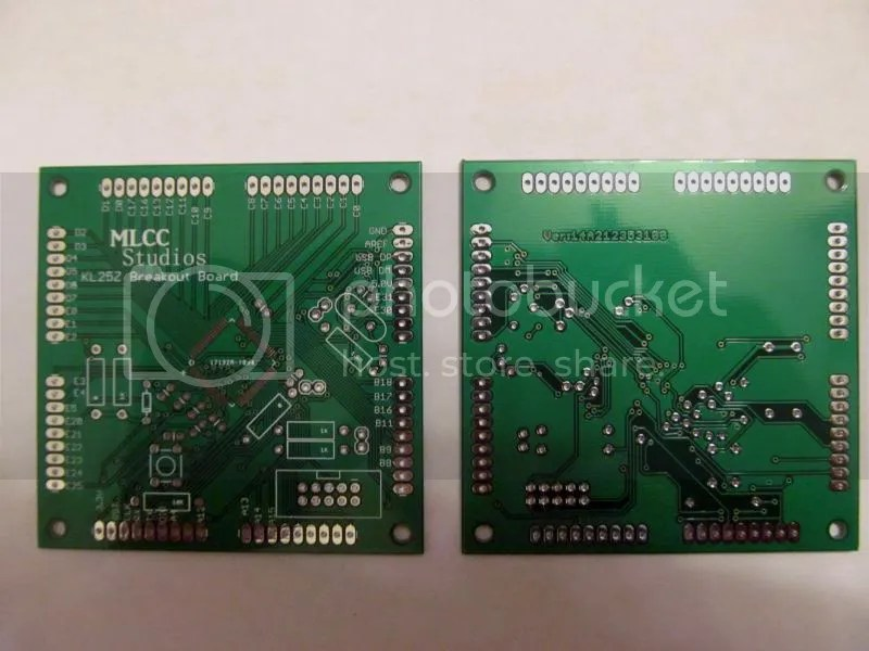 First fabbed PCB boards!