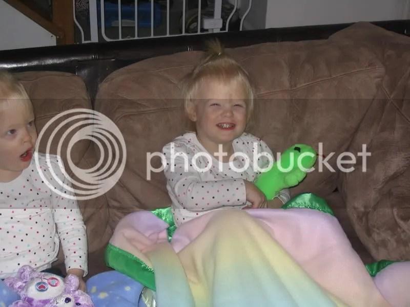 Abby & her blanket