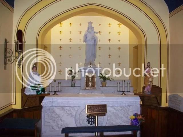 Alter at Chapel