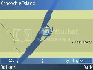 Crocodile Island on Nokia Maps