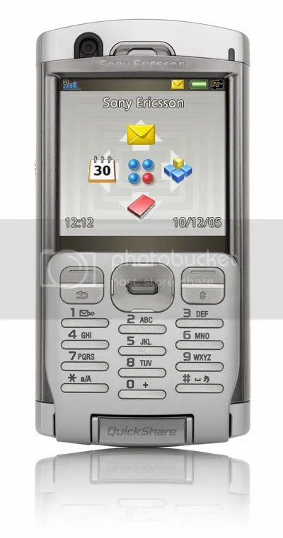 Sony Ericsson's P990 smartphone