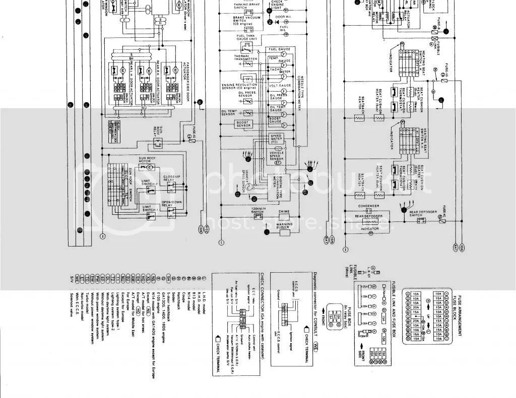 Full Chassis And Ecu Electrical Diagram Anywhere To Be