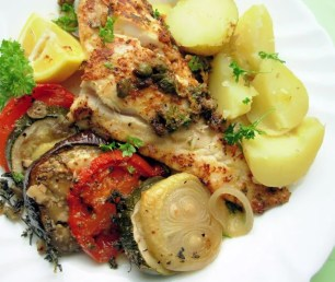 Five Minute Pan-Fried Fish in a Beurre Noisette sauce with Capers