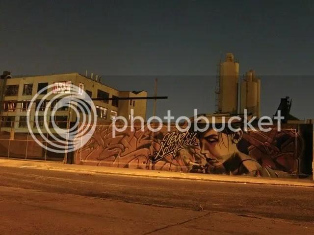 mural in bushbick, brooklyn