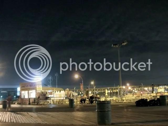 coney island at night, one of many