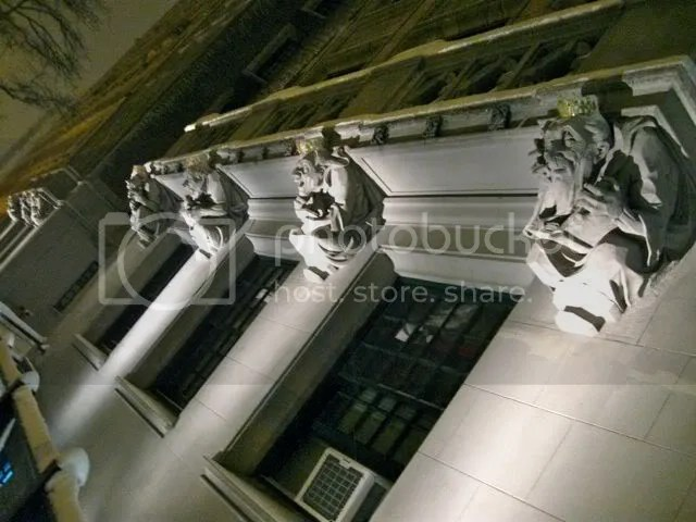 Gargoyles on 110th Street, nyc