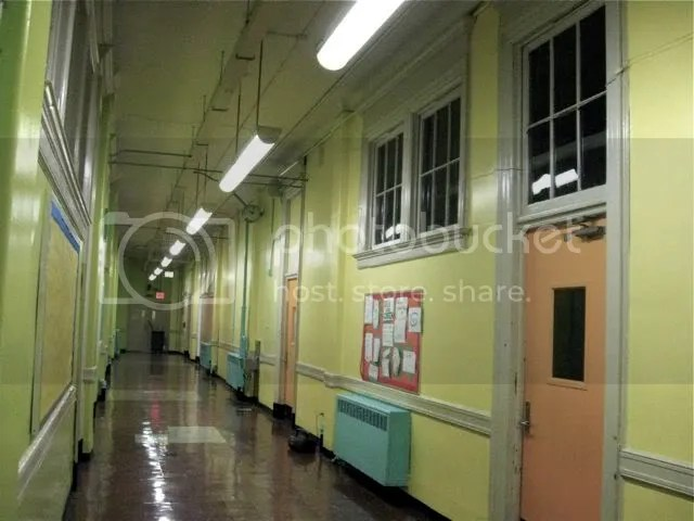 Brooklyn Public School hallway