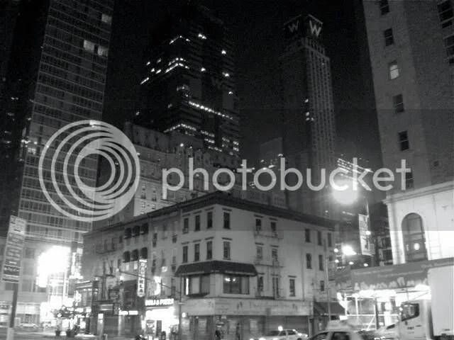 Midtown NYC at night