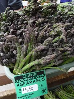 Organic asparagus for sale